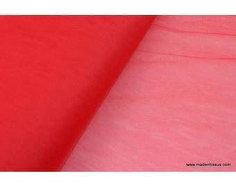 Tulle souple robe de mariée rouge en 3.00m de large x50cm