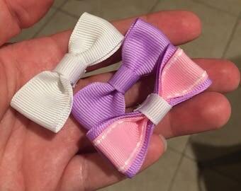 Set of 3 mini bows