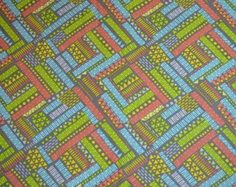 FREE SHIPPING - Multi color placemats, geometric placemats, table linens, cloth placemats, washable placemats, placemats, gift