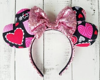 Hearts and Arrows  Heart Shaped Valentine Ears