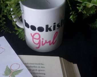 "Mug ""Bookish Girl"""