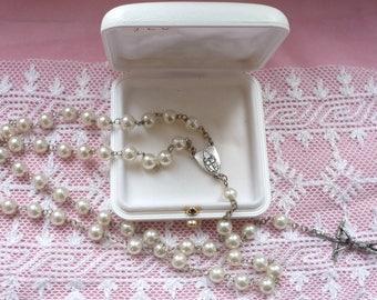 GREAT VATICAN Lourdes Vintage religious religion Rosary CHAPLET