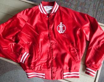 Vintage Wiggins Oil Tool Company Stadium Jacket