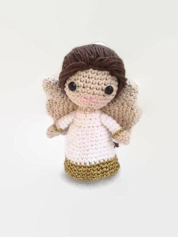 Little Angel Toys : Little crochet angel toy wedding