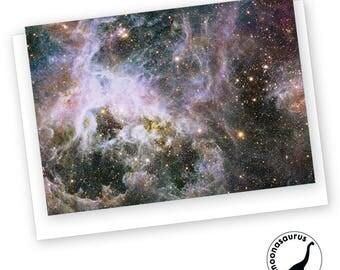 Tarantula Nebula Greeting Card, Blank Card, Space Stationery, Nebula Birthday Card, Any Occassion Card, Space