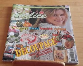 "DIY deco magazine ""The box to MALICE"" number 10"
