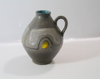 Great vase by Carstens - No: 1522-14, West German Pottery, WGP, Fat Lava
