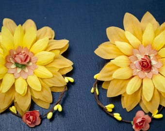 Earrings masterful floral jewelry