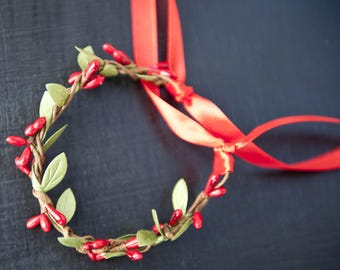 Bracelet vegetable jewelry for the garden fairy