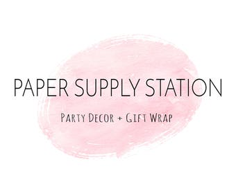 Paper Supply Station