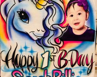 Unicorn Birthday Theme