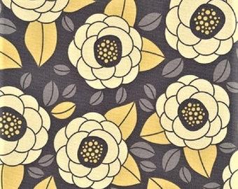 """Joel Dewberry  Free Spirit  Aviary 2  """"bloom"""" Granite  Cotton Fabric"""