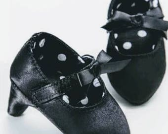 Black Prop photo Baby Shoe