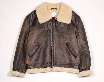 VINTAGE - Sheepskin jacket