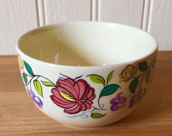 Vintage Poole pottery sugar bowl