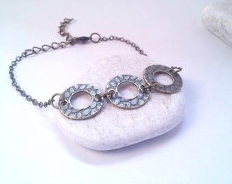 Round bracelet trio