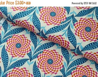 Sale Zebra Bloom in Linen from the Eternal Sunshine Collection by Amy Butler - Cotton Quilting Fabric