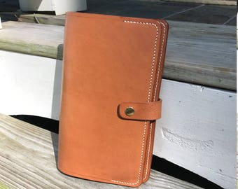 Leather Notebook Cover for Moleskine Notebook