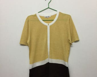 Hanae Mori Women's T-Shirt/Hanae Mori T-Shirt/Japanese Designer/Size 40