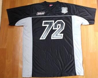 Bone NY jersey, vintage lowrider shirt, t-shirt of 90s hip-hop, old school 1990s hip hop, OG, gangsta rap, fubu rap, size L Large