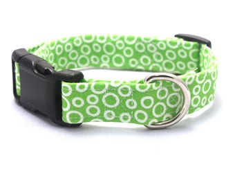 Green Bubbles Collar