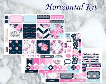 Dream // Weekly Kit - Erin Condren Life Planner Horizontal