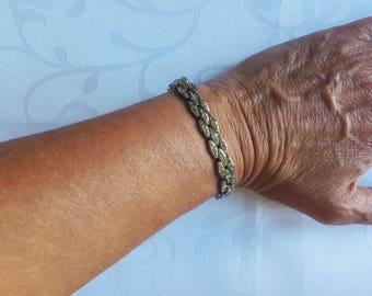 Vintage, 1950s, Articulated Diamante Bracelet (LE12)