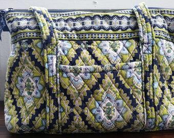 "Vera Bradley Retired Pattern ""Cambridge"" Shoulder Bag"