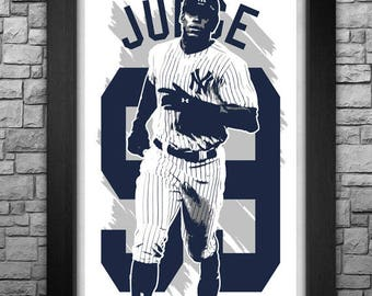 AARON JUDGE limited edition art print. Choose from 8 sizes! Choose from 8 sizes!