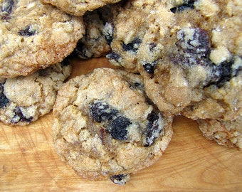 Old-Fashioned Oatmeal Cookies, 1 1/2 Dozen, Homemade Cookies, Raisin, Pecan, Cranberry, Cherry