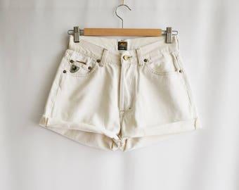 Vintage Lois white shorts