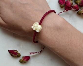 Braided Elephant bracelet