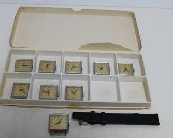 "Vintage  8 swiss watches ""FERO FELDMANN"""
