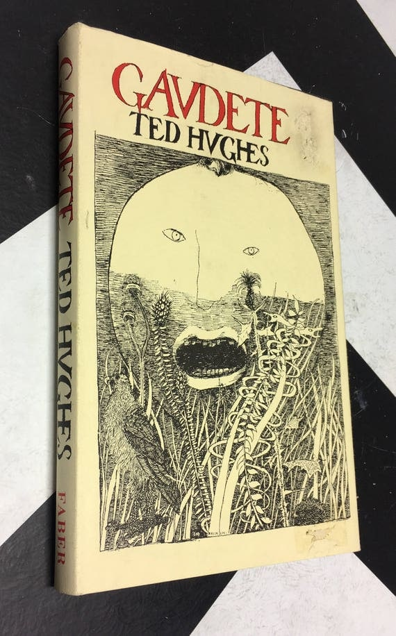 Gaudete by Ted Hughes white vintage poet laureate rare book (Hardcover, 1978)