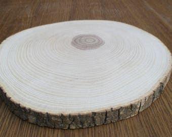 "Large Ash-tree Wood Slices 6-10 inch,6""-10"" wood slice,6""-10"" ash slice,Large wood slab,Rustic Wedding Decor,Cake Stand,Wedding Centerpiece"