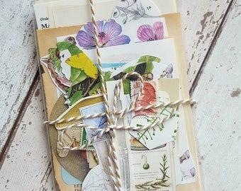 Scrap pack , journal kit , junk journal kit , project life , smash book , diy craft kit , scrapbook kit