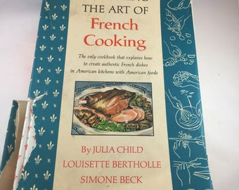Mastering the Art of French Cooking - Julia Child - Art of French Cooking Volume One - Vintage Cookbook - 1960s Cookbook - Vintage Kitchen
