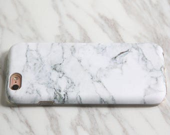 NEW Marble white iPhone 7 Tough case Galaxy S7 Slim case iPhone SE Slim case