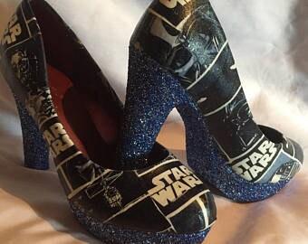 Star Wars inspired heels * * * sizes 3-8