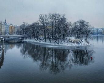 Prague Reflections, Prague, Czech Republic