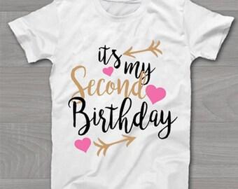 Kids 2nd, 3rd, 4th, 5th, 6th birthday Tshirt