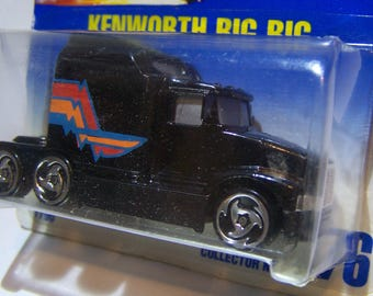 Hot Wheels Kenworth Big Rig ~ Collectors Number 76 ~ 1/64 Scale ~ Dated 1991