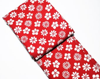 Shinpanki judge flag bag / Japanese fabric / Kendo Accessories / Japanese textiles / Sensei gift / Custom martial arts accessories