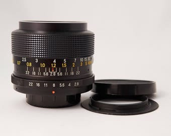 Fortron 35mm f/2.8 Lens for Pentax Manual Focus Cameras