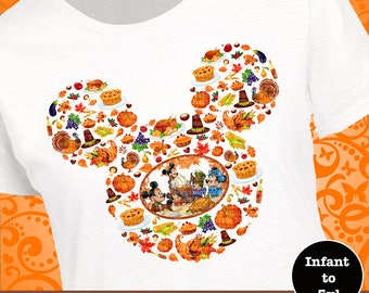Mickey Thanksgiving Shirt, Disney Thanksgiving Shirt, Mickey Turkey Shirt, Minnie Turkey Shirt, Mickey Turkey Tank, Minnie Turkey Tank