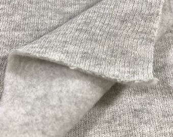 Cotton Fleece Fabric By the Yard (Wholesale Price Available By the Bolt) USA Made Premium Quality - 6007YDF  1 Yard