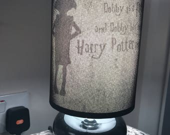 Ceiling lampshade Harry Potter deathly hallows silhouette