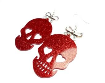 Rock - Skull earrings