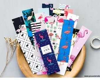 Pink Flamingo bookmark