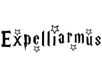 Harry Potter Expelliarmus Wall Decal